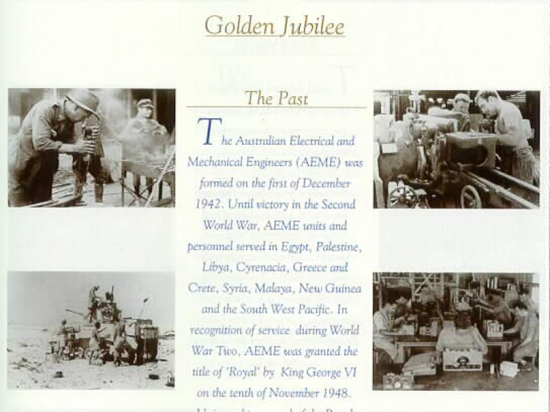 Golden Jubilee, the Past