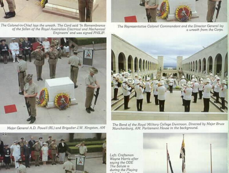 Commemorative United Drumhead Service 1992